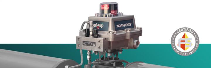 Saiba mais sobre o modelo D-ESD com Partial Stroke Test dos Monitores de Posição Topworx
