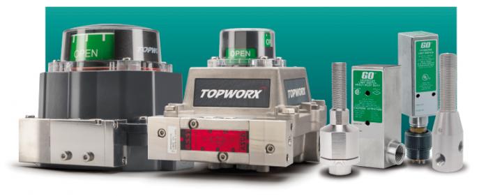 Monitores e Sensores de Posição TopWorx
